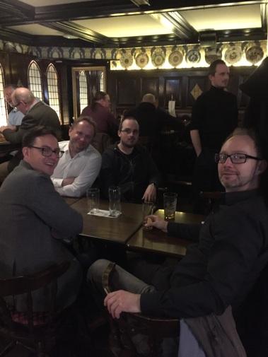 Pubkväll i Sundbyberg i Stockholm